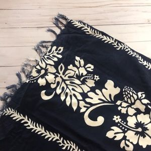 Vintage tropical sarong/ tapestry